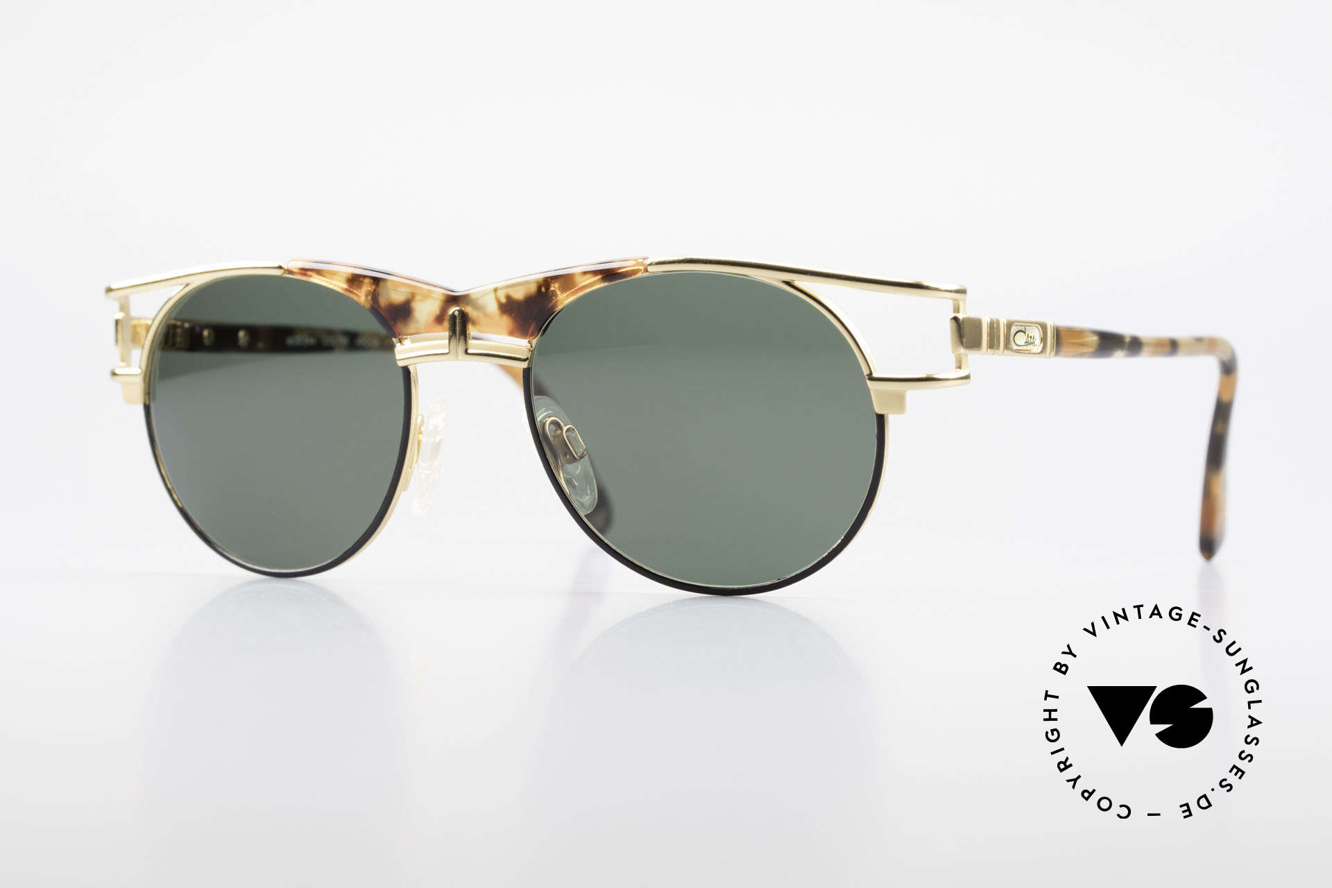 Cazal 244 Iconic 90's Vintage Sunglasses, elegant Cazal designer shades of the early 90's, Made for Men and Women