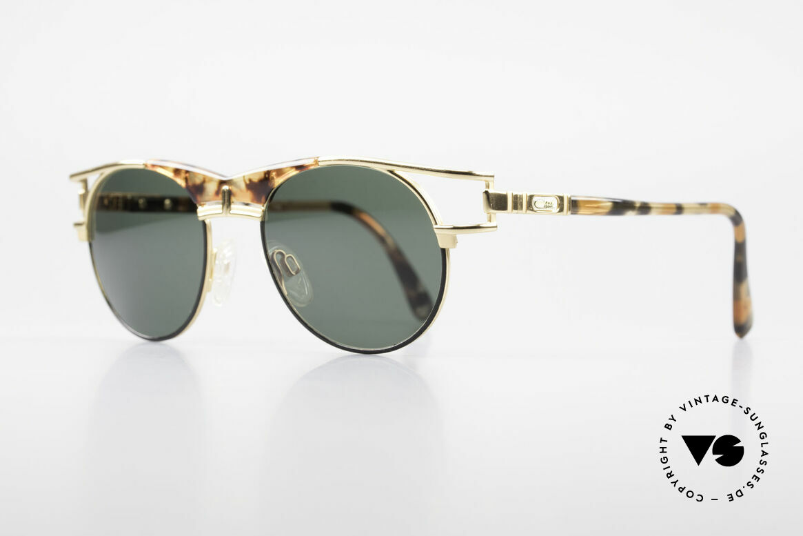 Cazal 244 Iconic 90's Vintage Sunglasses, fantastic combination of colours and materials, Made for Men and Women