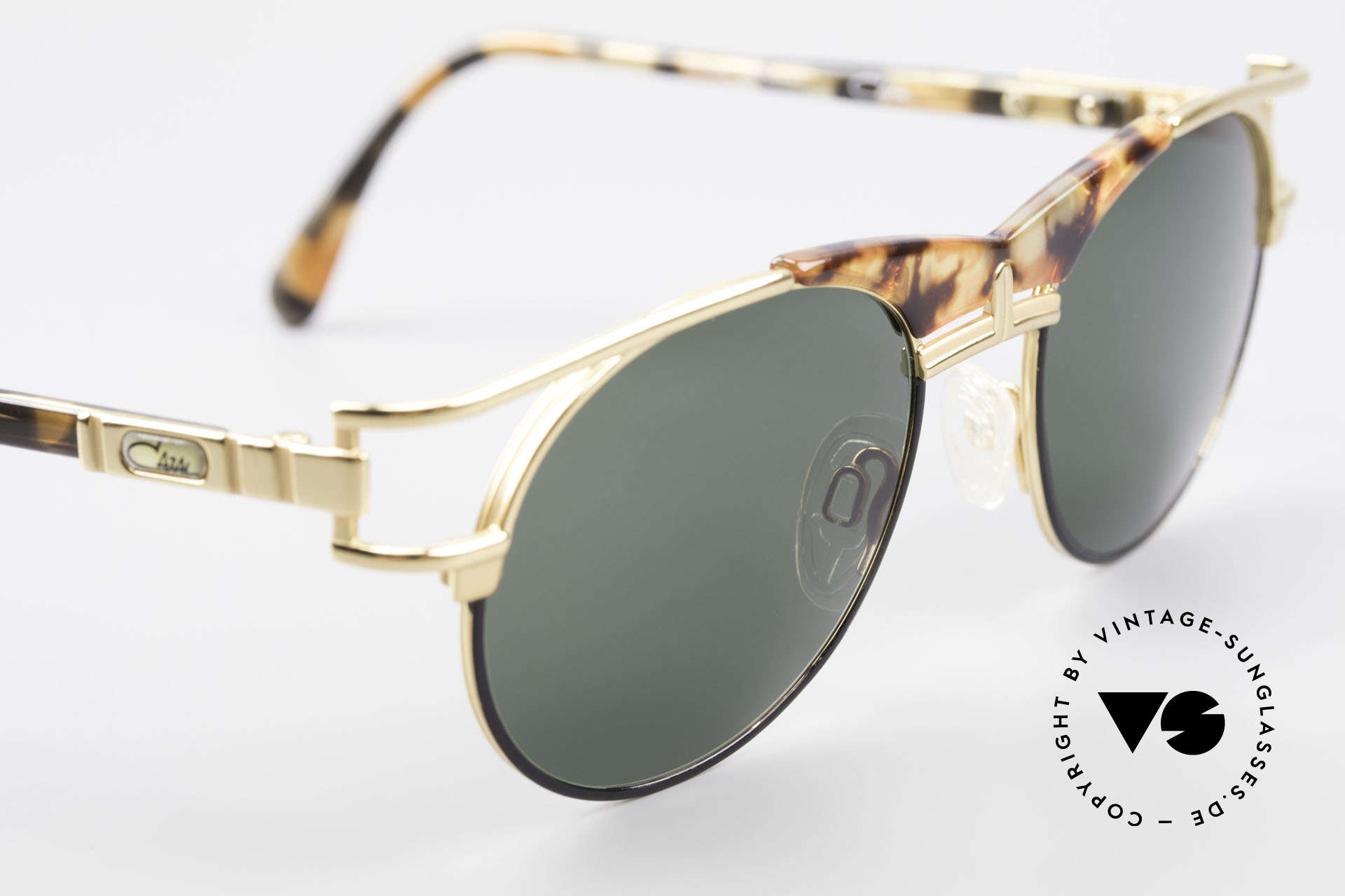 Cazal 244 Iconic 90's Vintage Sunglasses, NO RETRO shades, but a 25 years old ORIGINAL!, Made for Men and Women