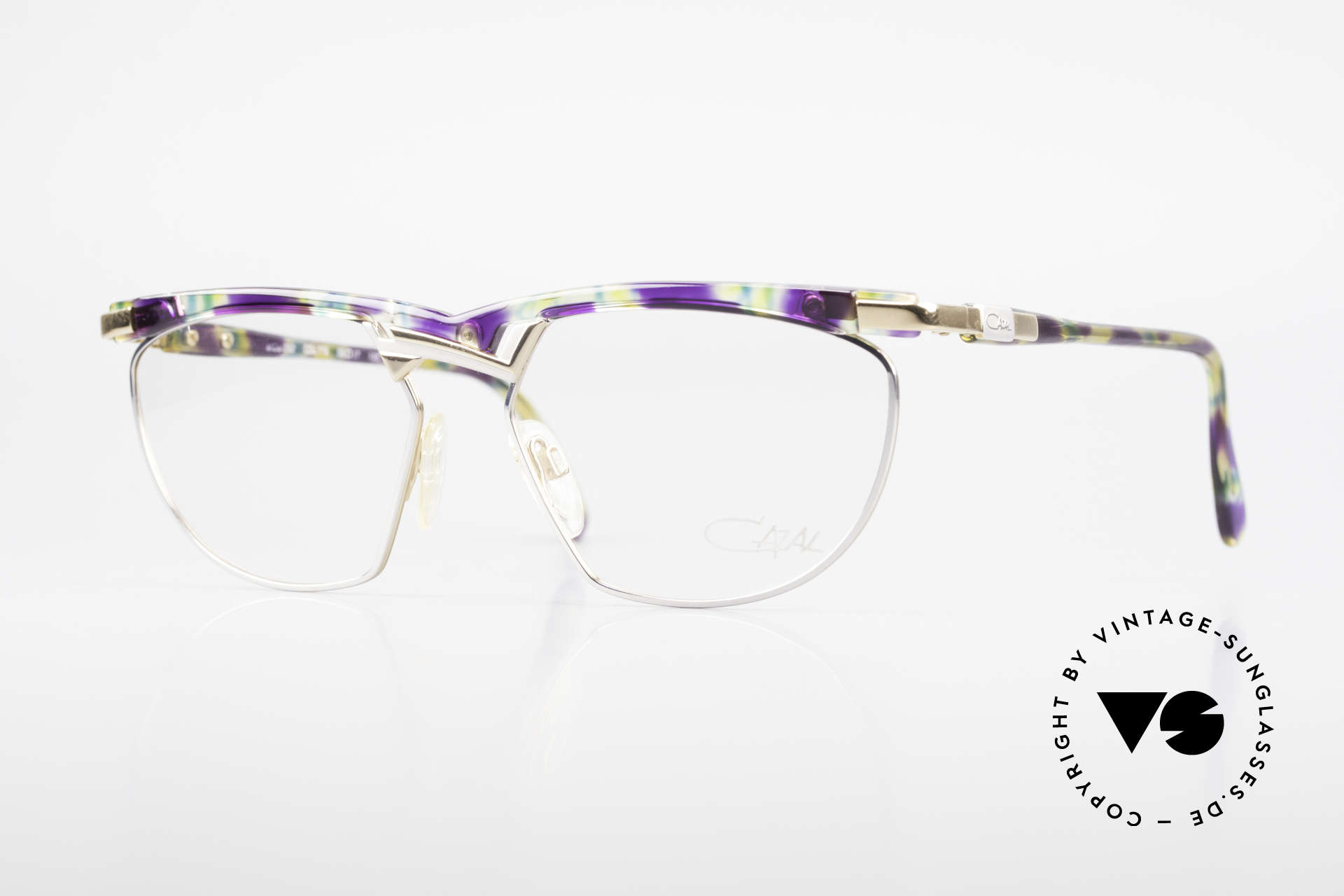 Cazal 252 90's Original True Vintage, extraordinary Cazal designer glasses of the early 90's, Made for Men and Women