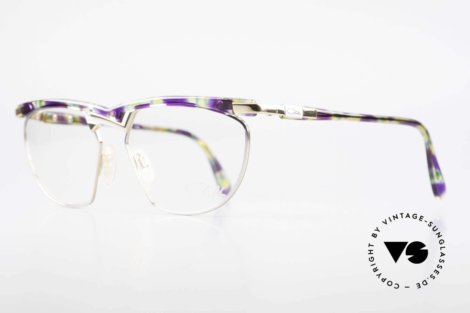 Cazal 252 90's Original True Vintage, 1.class craftsmanship (truly made in Germany), L size!, Made for Men and Women