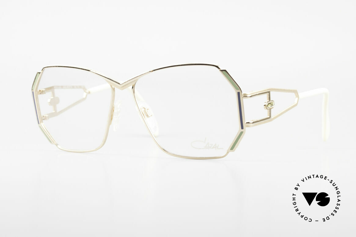 Cazal 225 Old School HipHop Frame 80's, striking VINTAGE designer eyeglass-frame by CAZAL, Made for Women