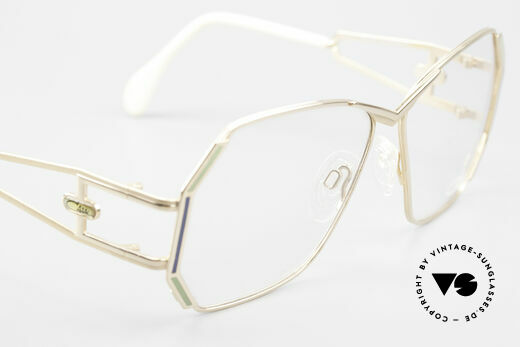 Cazal 225 Old School HipHop Frame 80's, NO RETRO EYEGLASSES, but a unique old CAZAL rarity, Made for Women