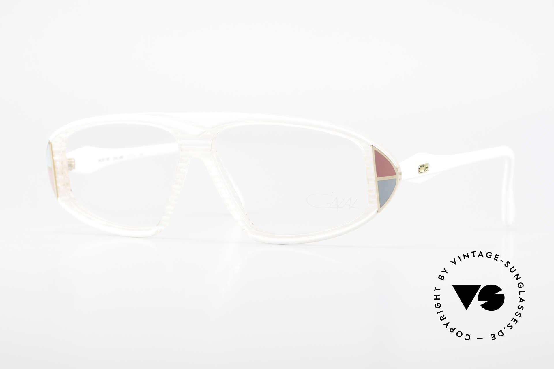 Cazal 187 80's Old School Eyeglasses, eye-catching vintage Cazal designer eyeglasses, Made for Men and Women