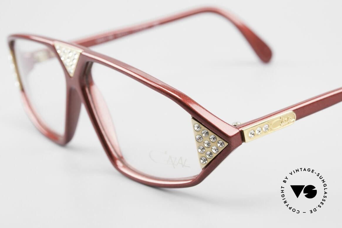 Cazal 199 80's Rhinestone Eyeglasses, unworn (like all our vintage Cazal eyewear), Made for Women