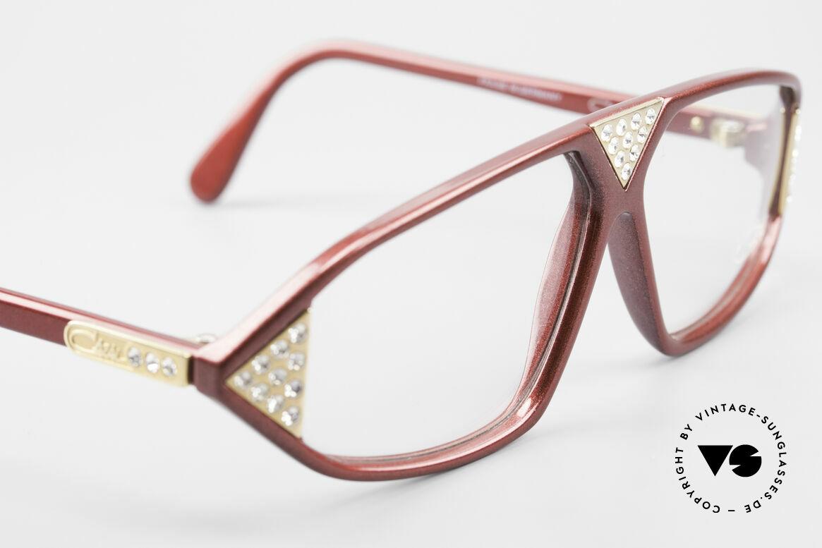 Cazal 199 80's Rhinestone Eyeglasses, NO retro glasses, but 100% vintage original, Made for Women