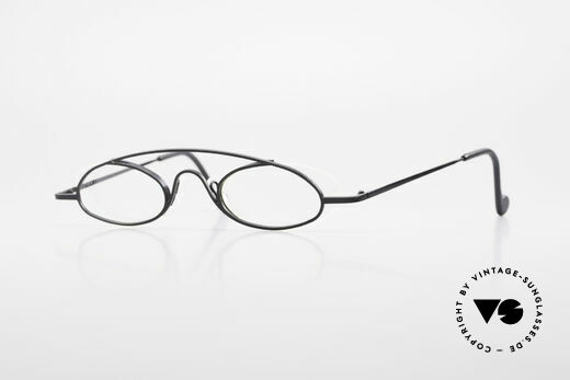 Theo Belgium Hababa Rimless Rimmed Frame 90's Details
