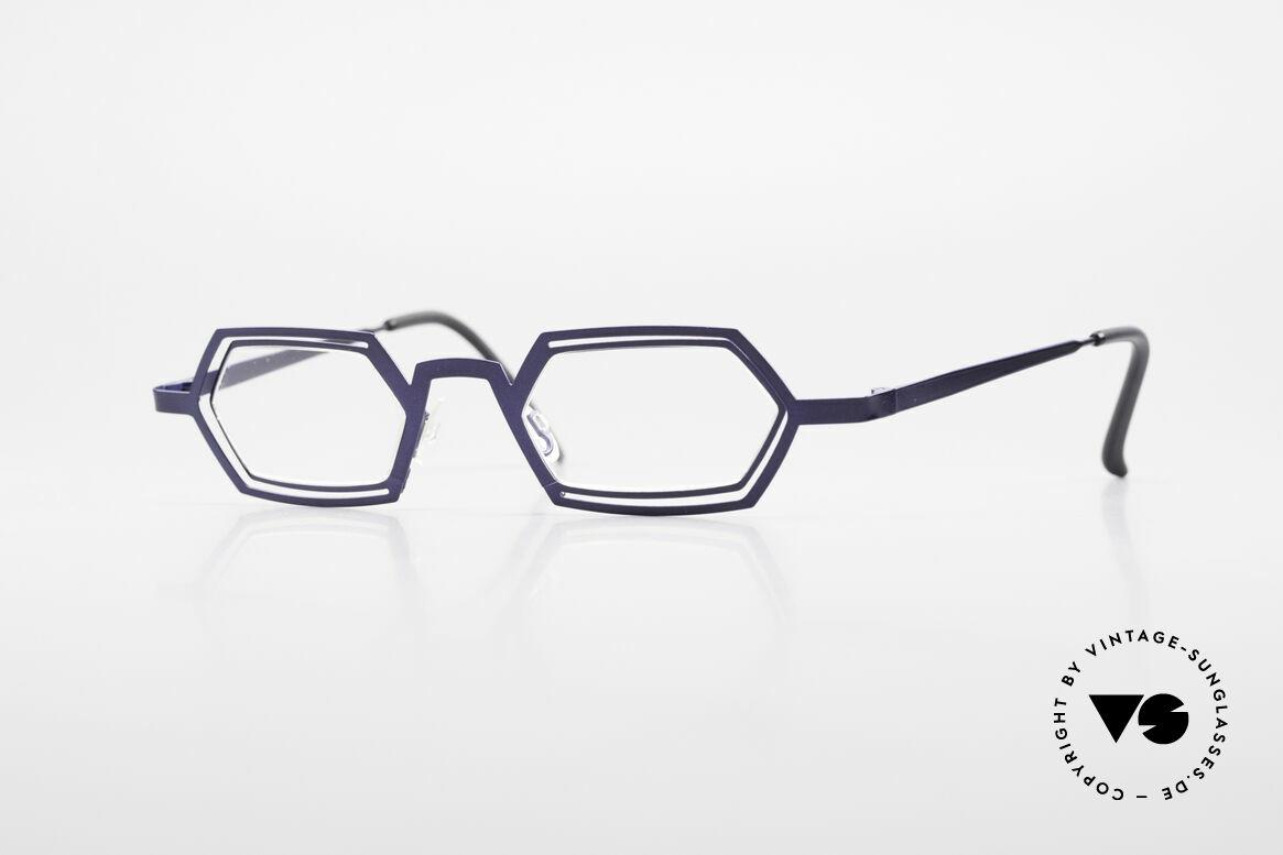 Theo Belgium Reflexs 90s Eyeglasses No Retro Frame, Theo Belgium: the most self-willed brand in the world, Made for Men