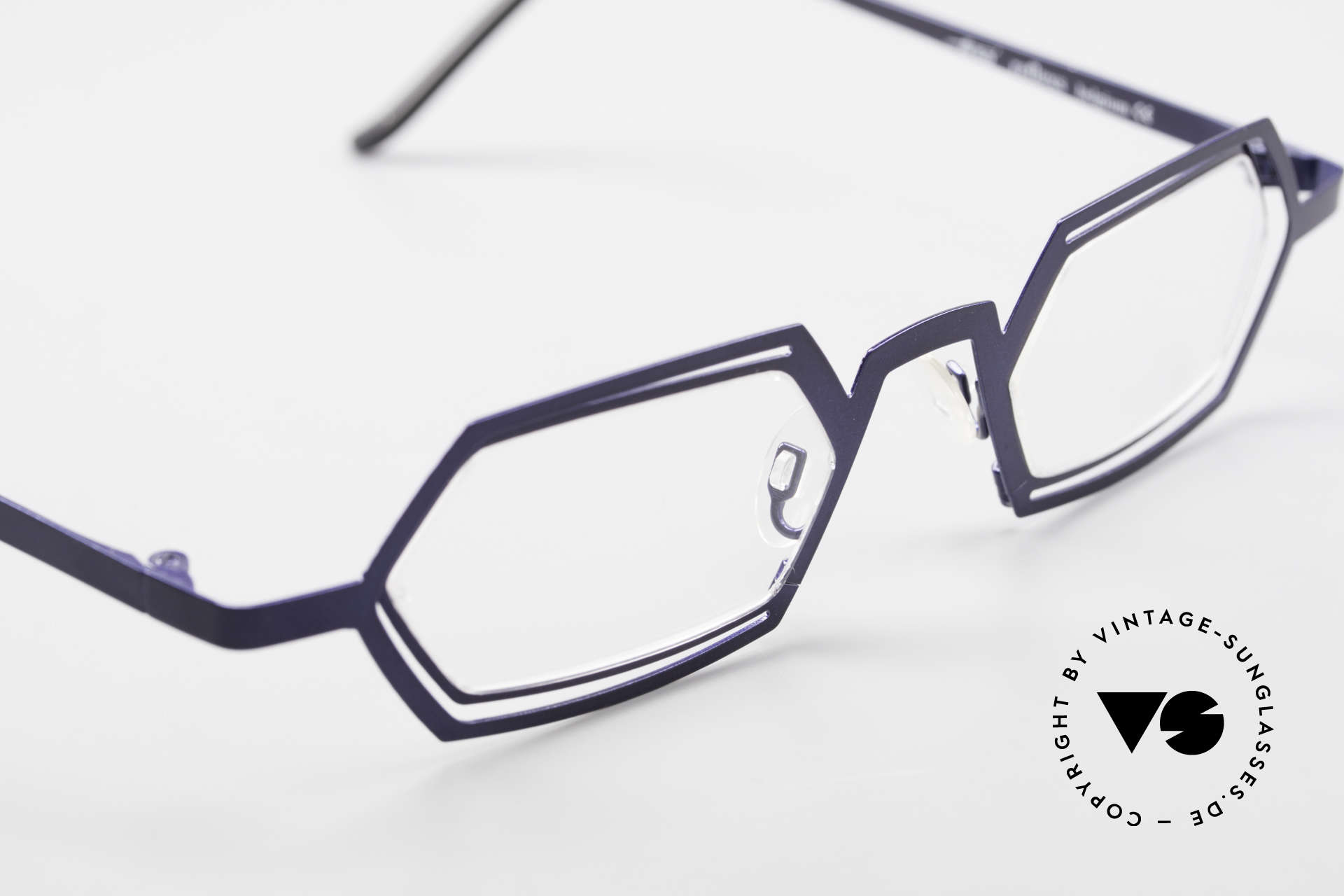 Theo Belgium Reflexs 90s Eyeglasses No Retro Frame, never worn, one of a kind; Theo frame for all who dare!, Made for Men