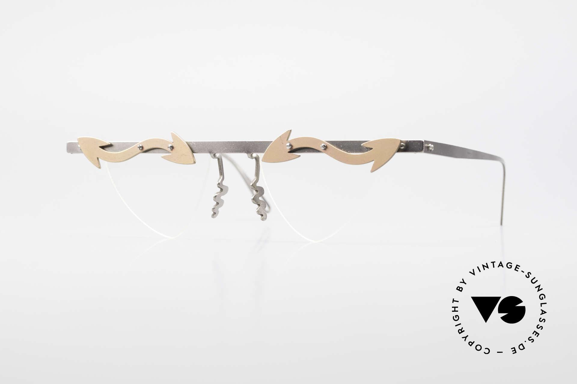 Theo Belgium Tita II Heart Shaped Eyeglasses Titan, Theo Belgium: the most self-willed brand in the world, Made for Women