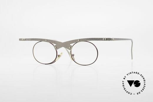 Theo Belgium Hie 3R Crazy Vintage Eyeglasses 90's Details