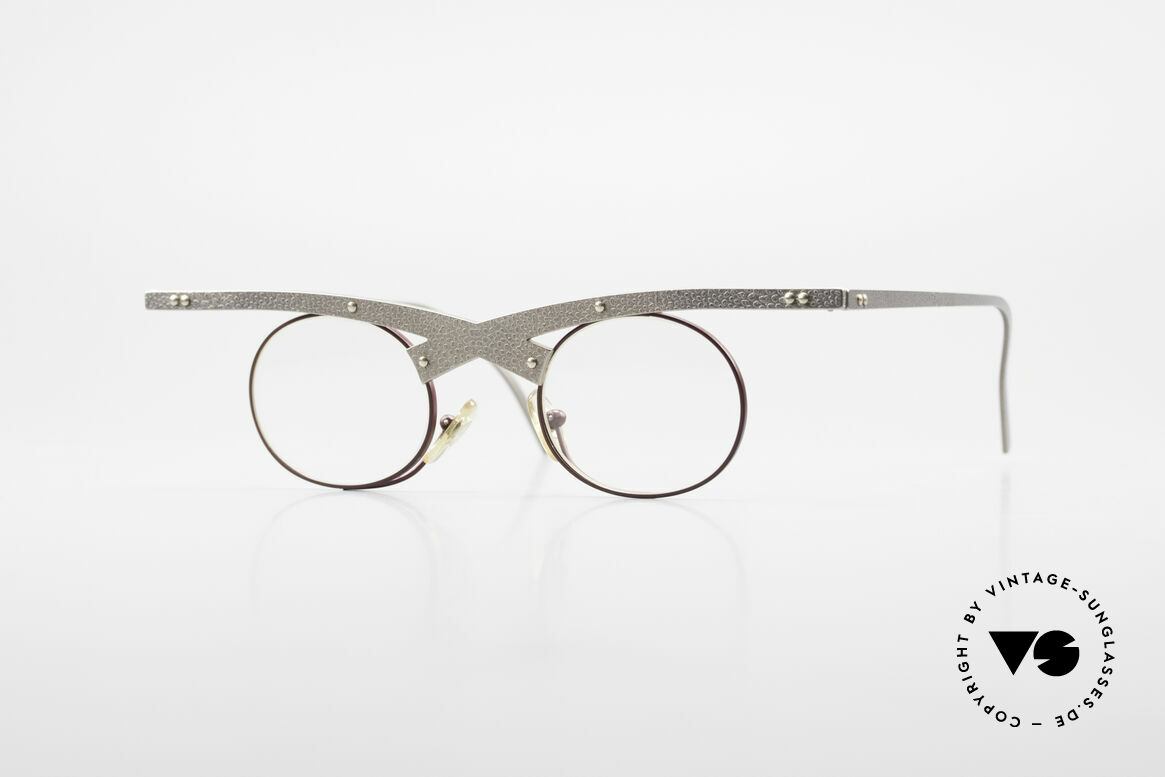 Theo Belgium Hie 3R Crazy Vintage Eyeglasses 90's, Theo Belgium = the most self-willed brand in the world, Made for Women