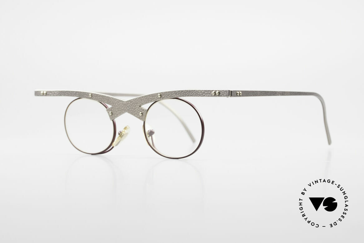 Theo Belgium Hie 3R Crazy Vintage Eyeglasses 90's, made for the avant-garde, individualists & trend-setters, Made for Women