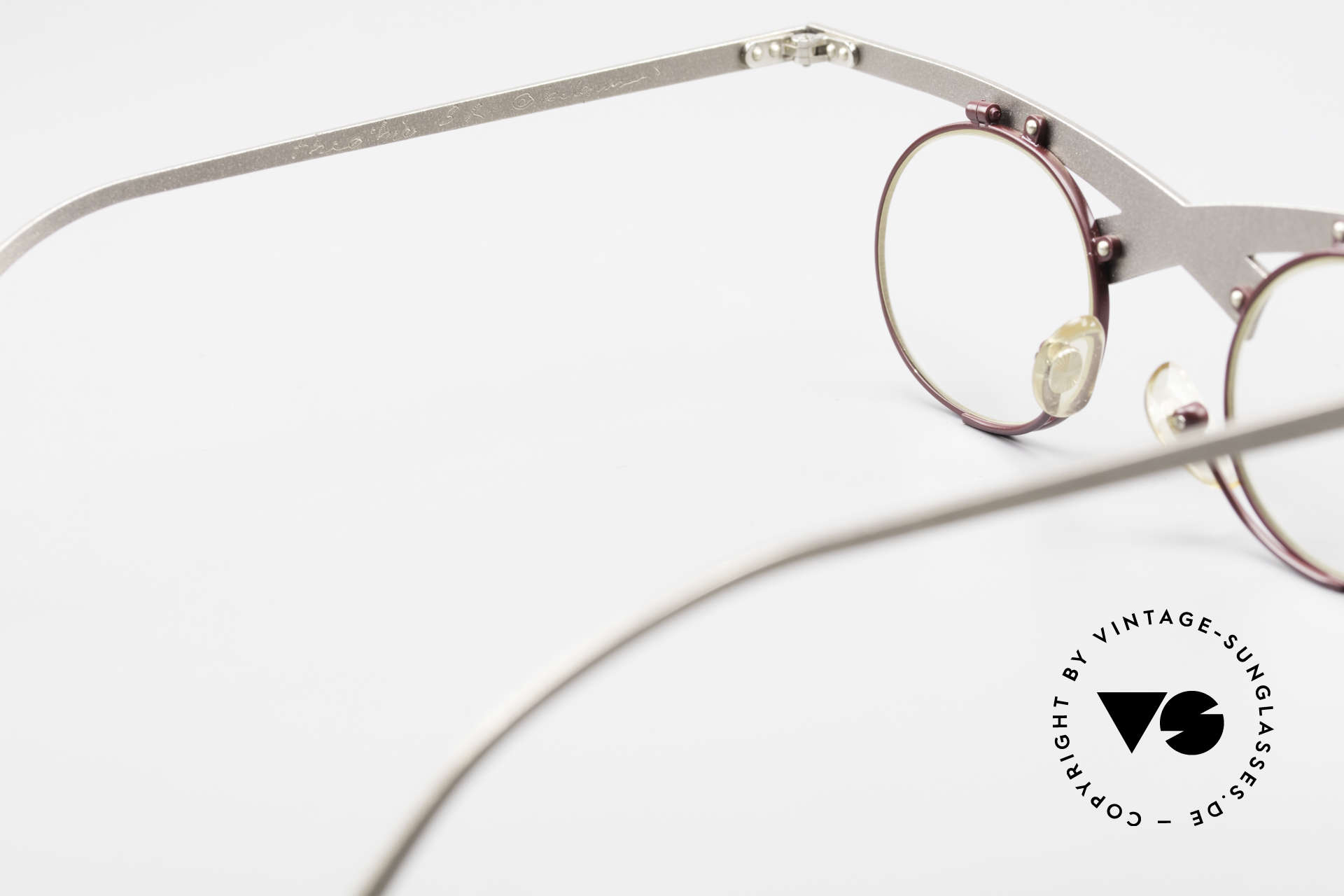 Theo Belgium Hie 3R Crazy Vintage Eyeglasses 90's, clear DEMO lenses should be replaced with prescriptions, Made for Women