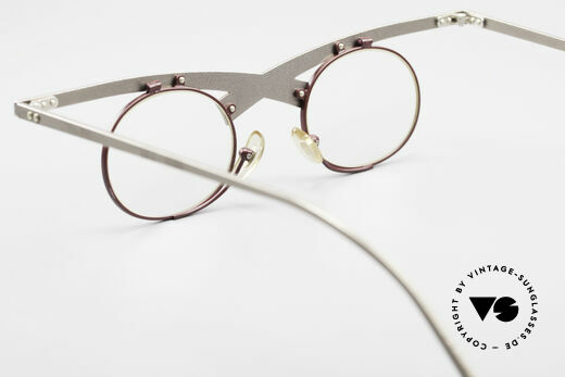 Theo Belgium Hie 3R Crazy Vintage Eyeglasses 90's, Size: large, Made for Women