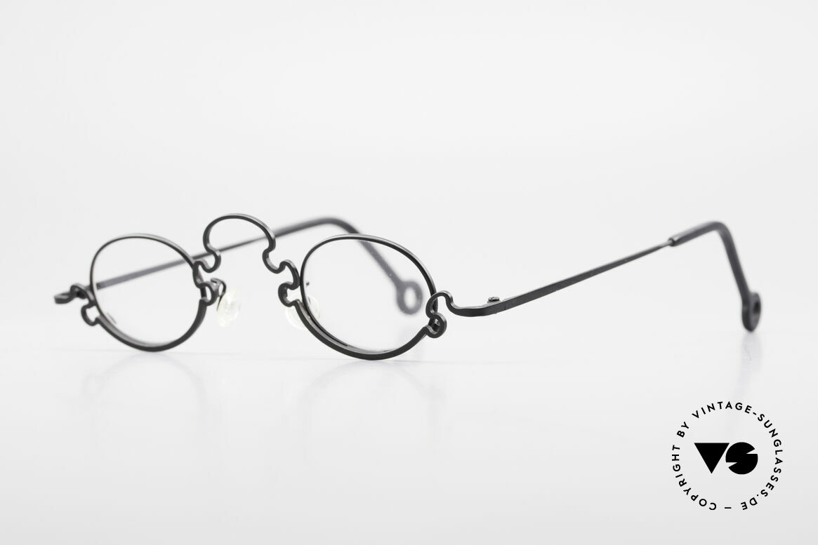 Theo Belgium Puzzle Spaghetti Eyeglasses Ladies, made for the avant-garde, individualists; trend-setters, Made for Women
