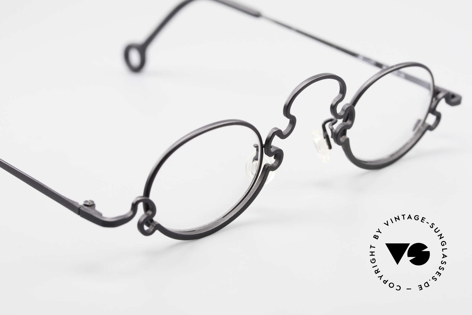 Theo Belgium Puzzle Spaghetti Eyeglasses Ladies, never worn, one of a kind; Theo shades for all who dare!, Made for Women