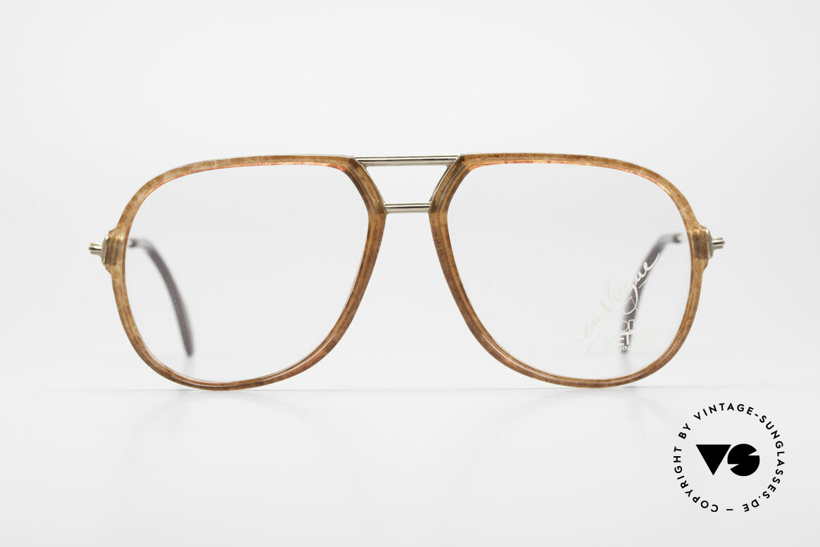Metzler 0664 80's En Vogue Vintage Glasses