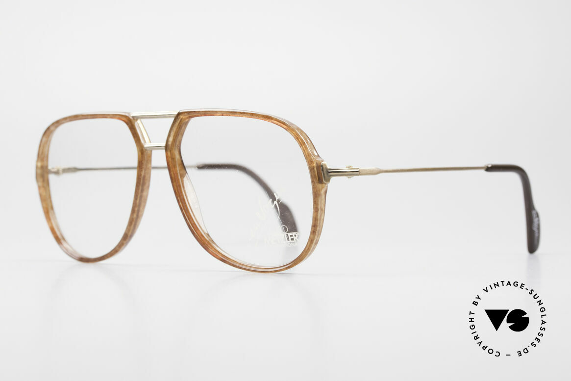 Metzler 0664 80's En Vogue Vintage Glasses, lightweight frame & accordingly pleasantly to wear, Made for Men