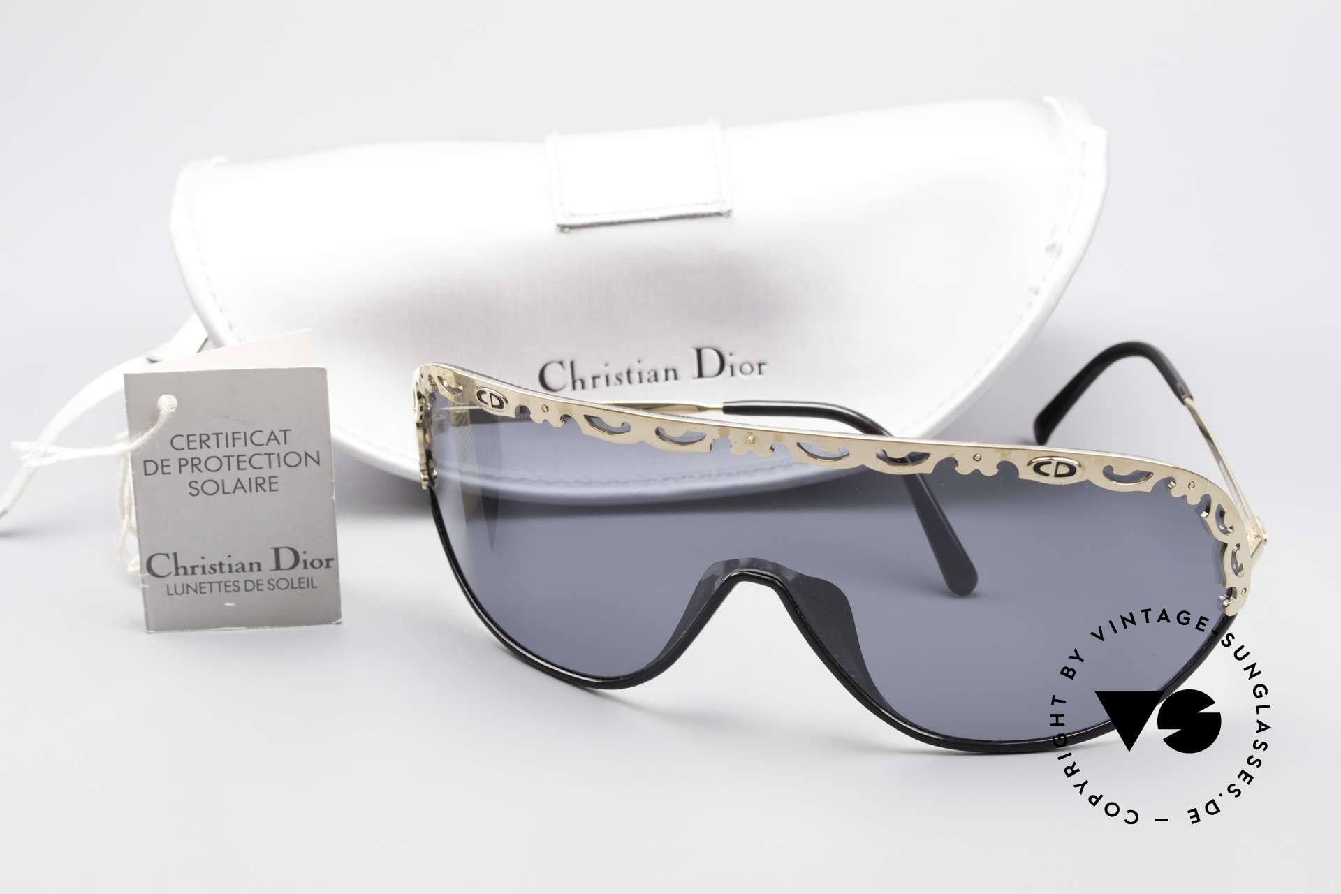Christian Dior 2501 Rare 80's Sunglasses Polarized, NO RETRO sunglasses, but a unique old original by Dior, Made for Women