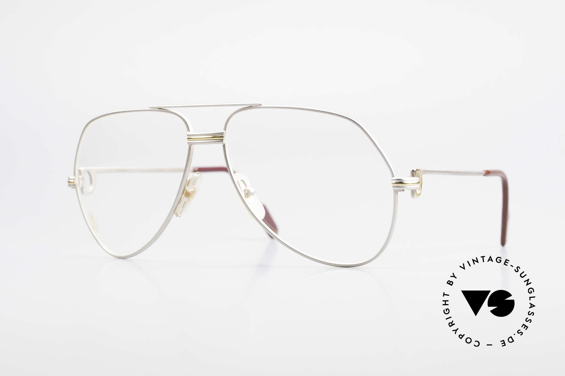 Cartier Vendome LC - M Precious Palladium Finish, Vendome = the most famous eyewear design by CARTIER, Made for Men
