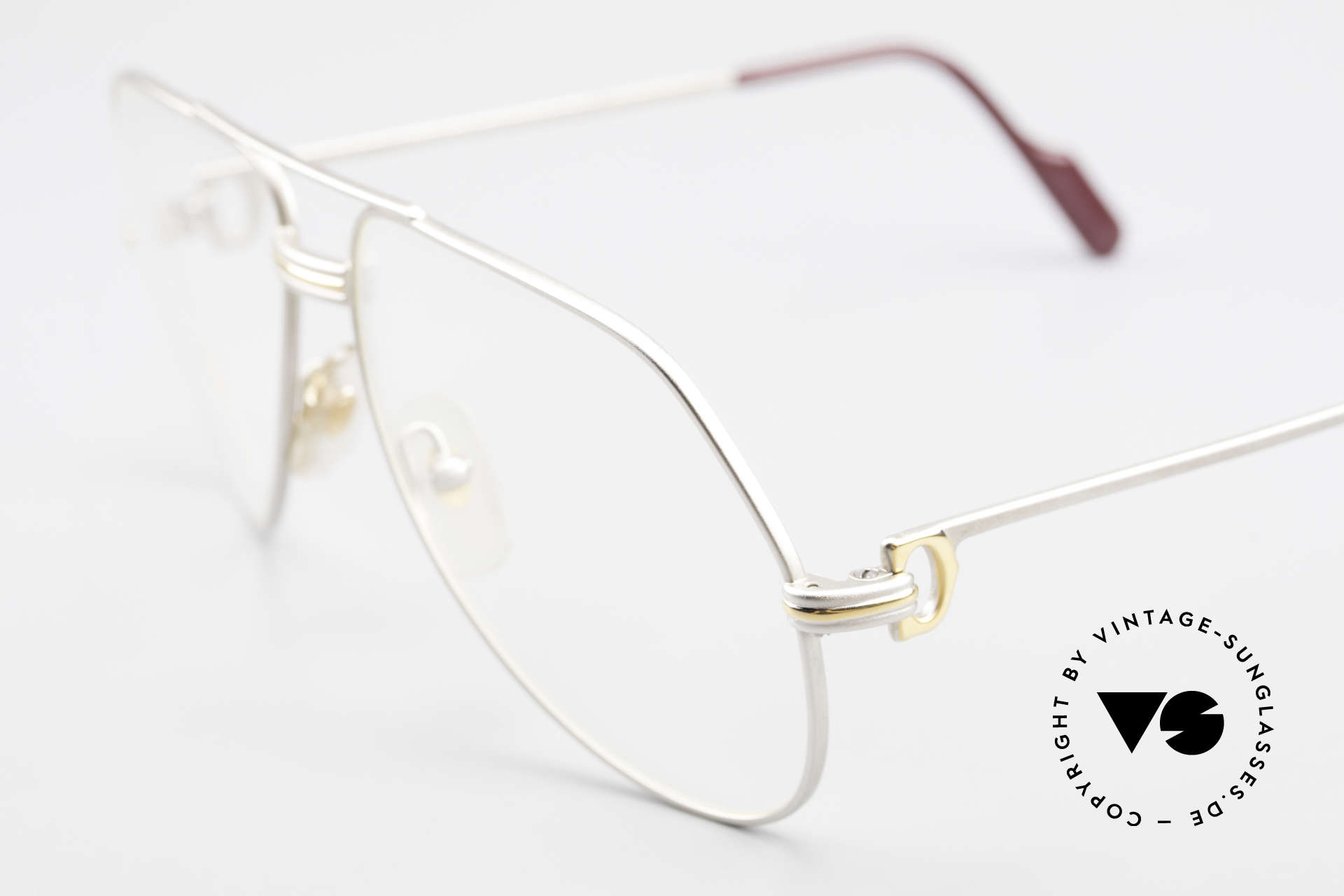 Cartier Vendome LC - M Precious Palladium Finish, rare & expensive edition with palladium finish; LUXURY!, Made for Men