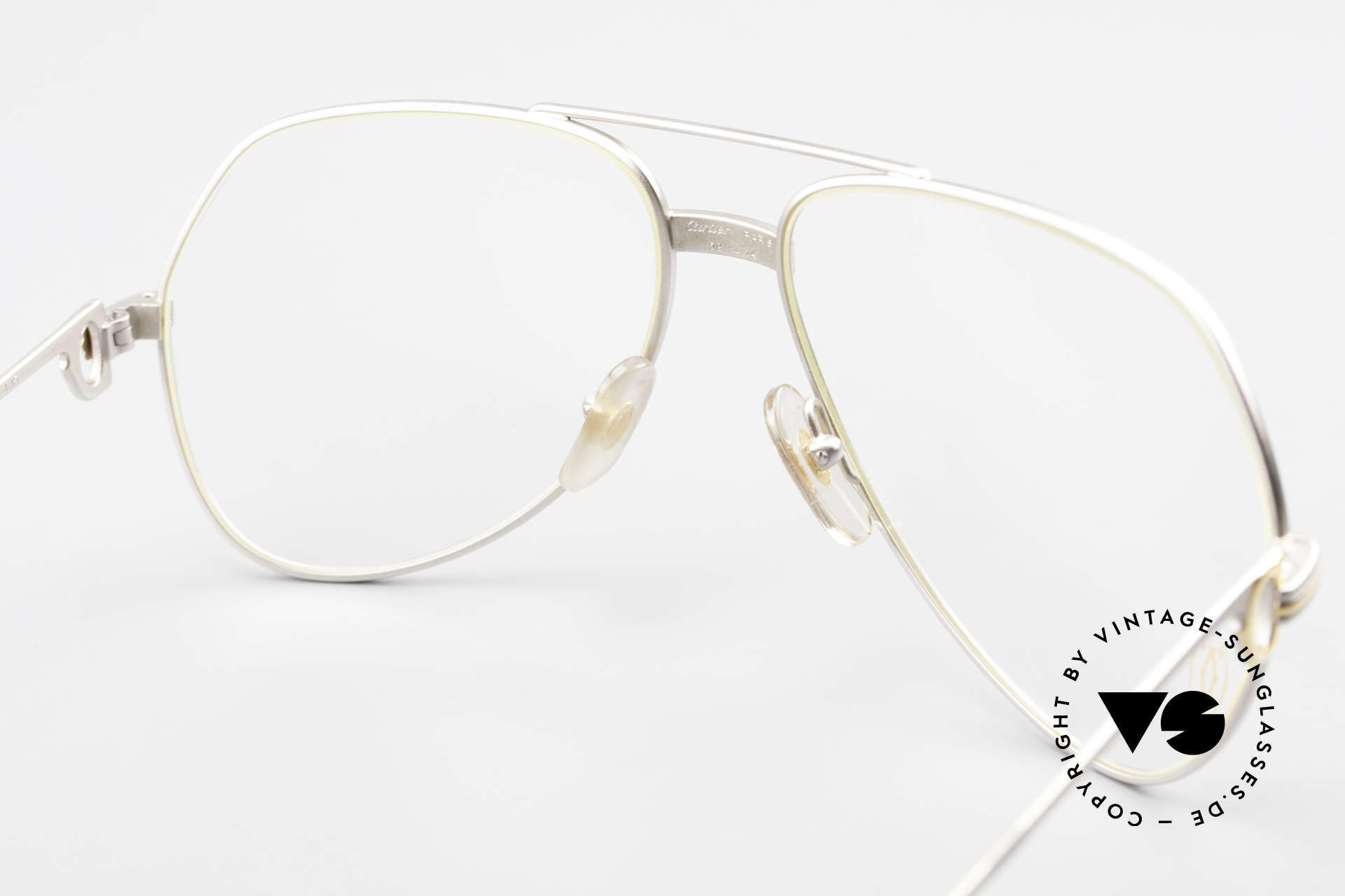 Cartier Vendome LC - M Precious Palladium Finish, NO retro eyeglasses, but an authentic vintage ORIGINAL, Made for Men