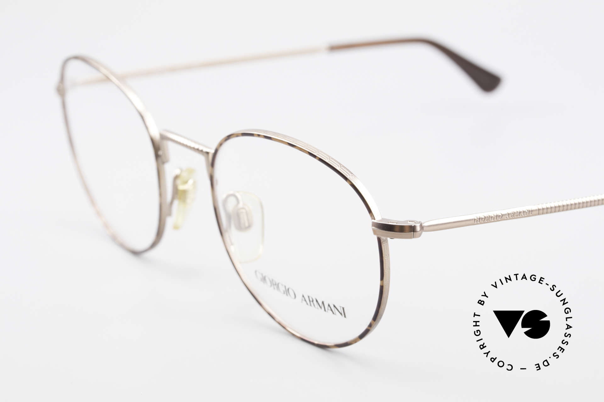 Giorgio Armani 231 80's Panto Frame No Retro, never worn (like all our rare vintage Armani glasses), Made for Men
