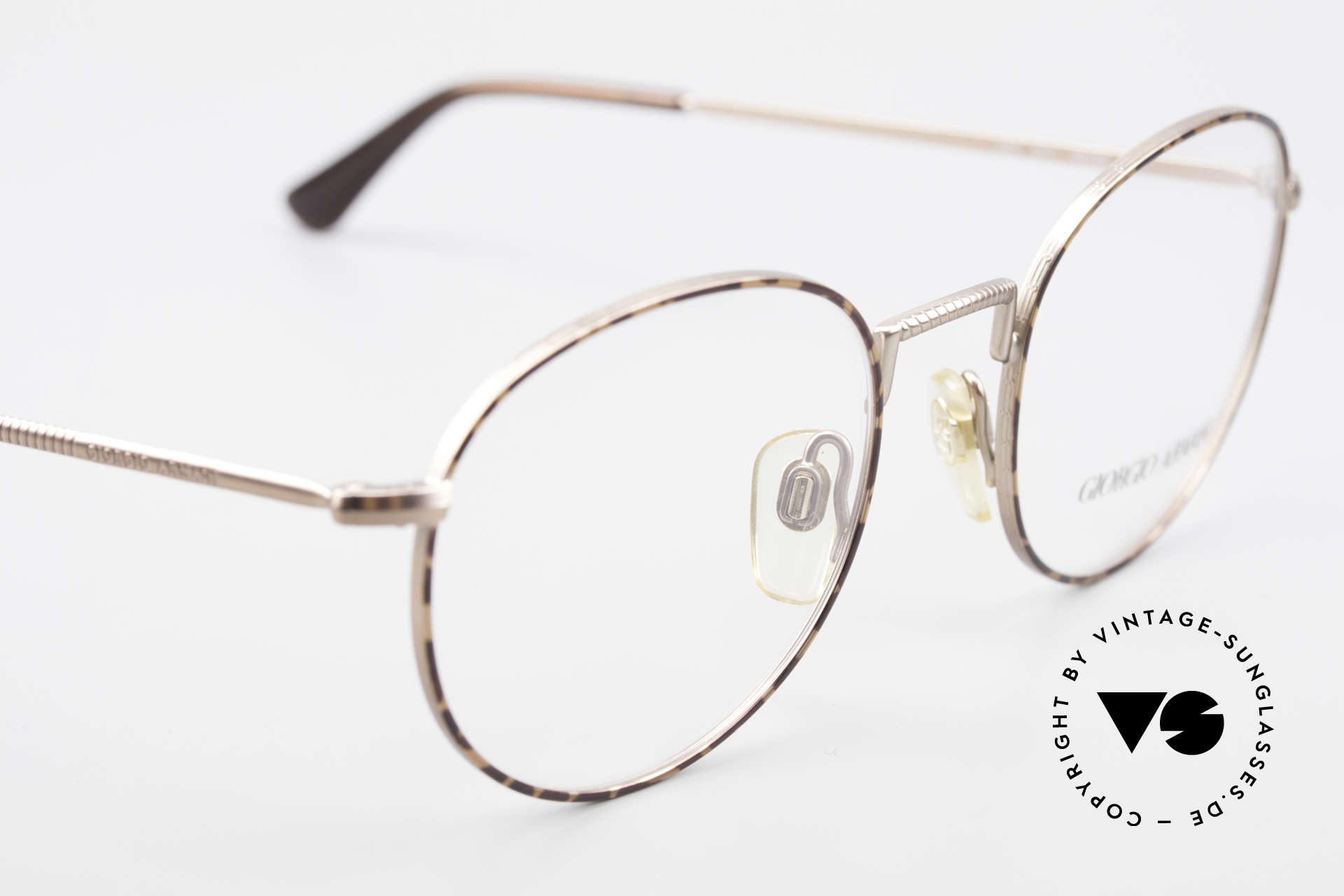 Giorgio Armani 231 80's Panto Frame No Retro, NO RETRO EYEWEAR, but a 30 years old ORIGINAL!, Made for Men
