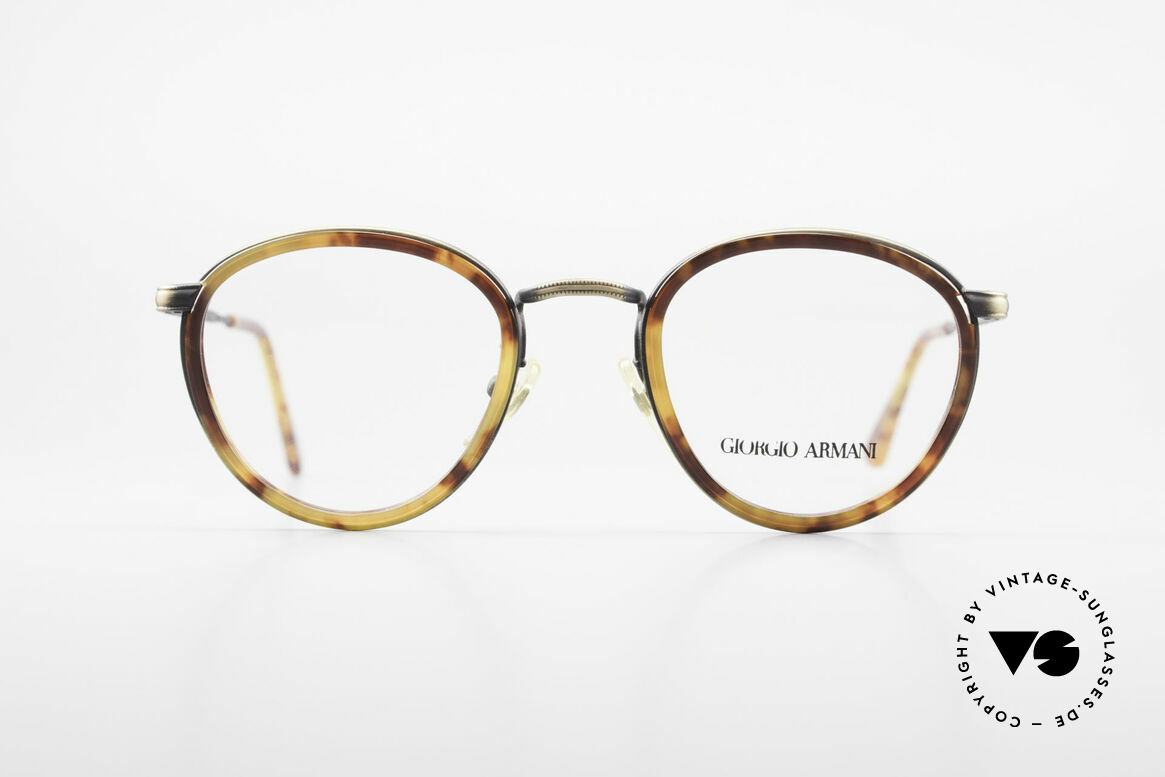 Giorgio Armani 101 Old Panto Glasses 80's Men