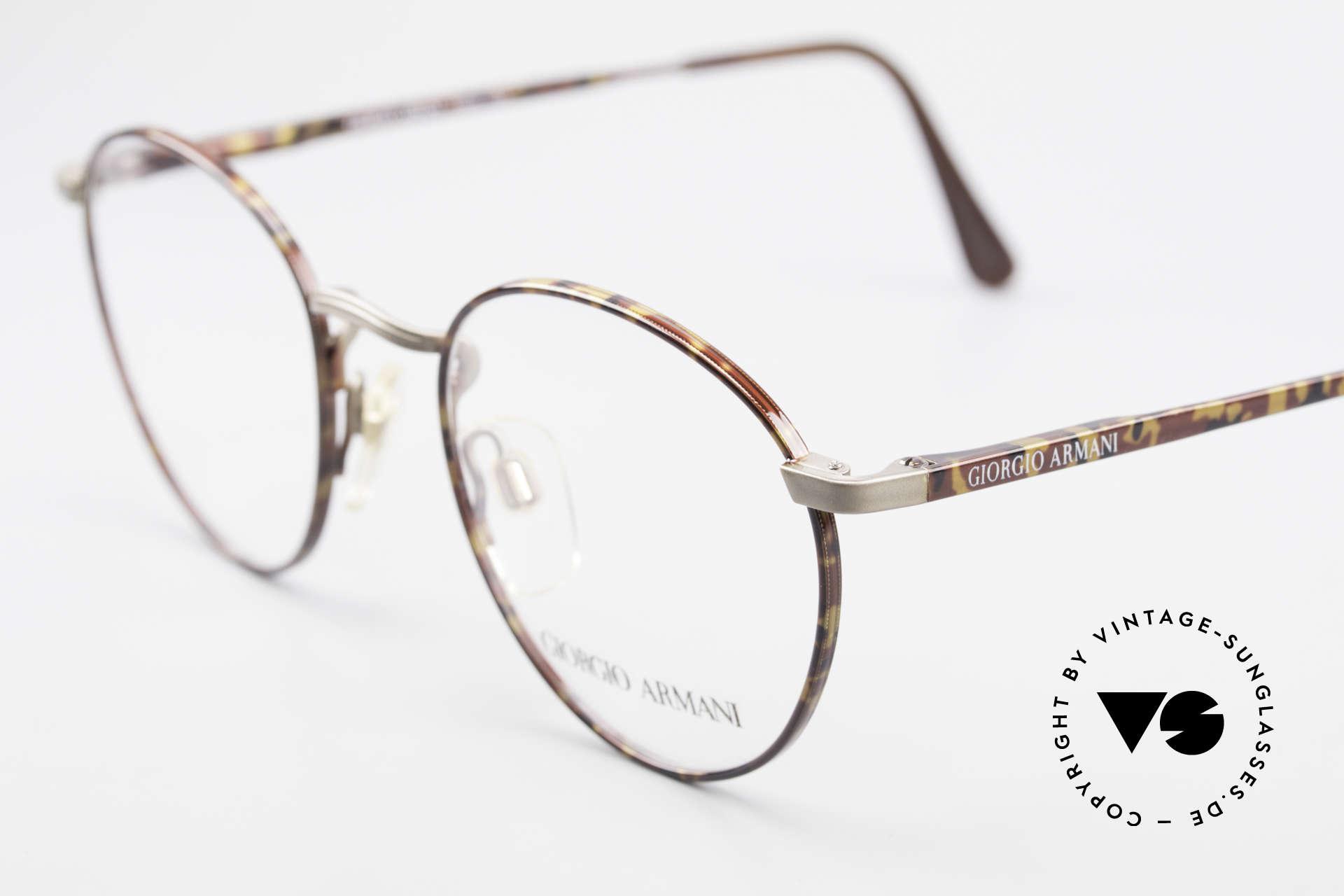 Giorgio Armani 166 No Retro Glasses 80's Panto, never worn (like all our rare vintage Armani glasses), Made for Men