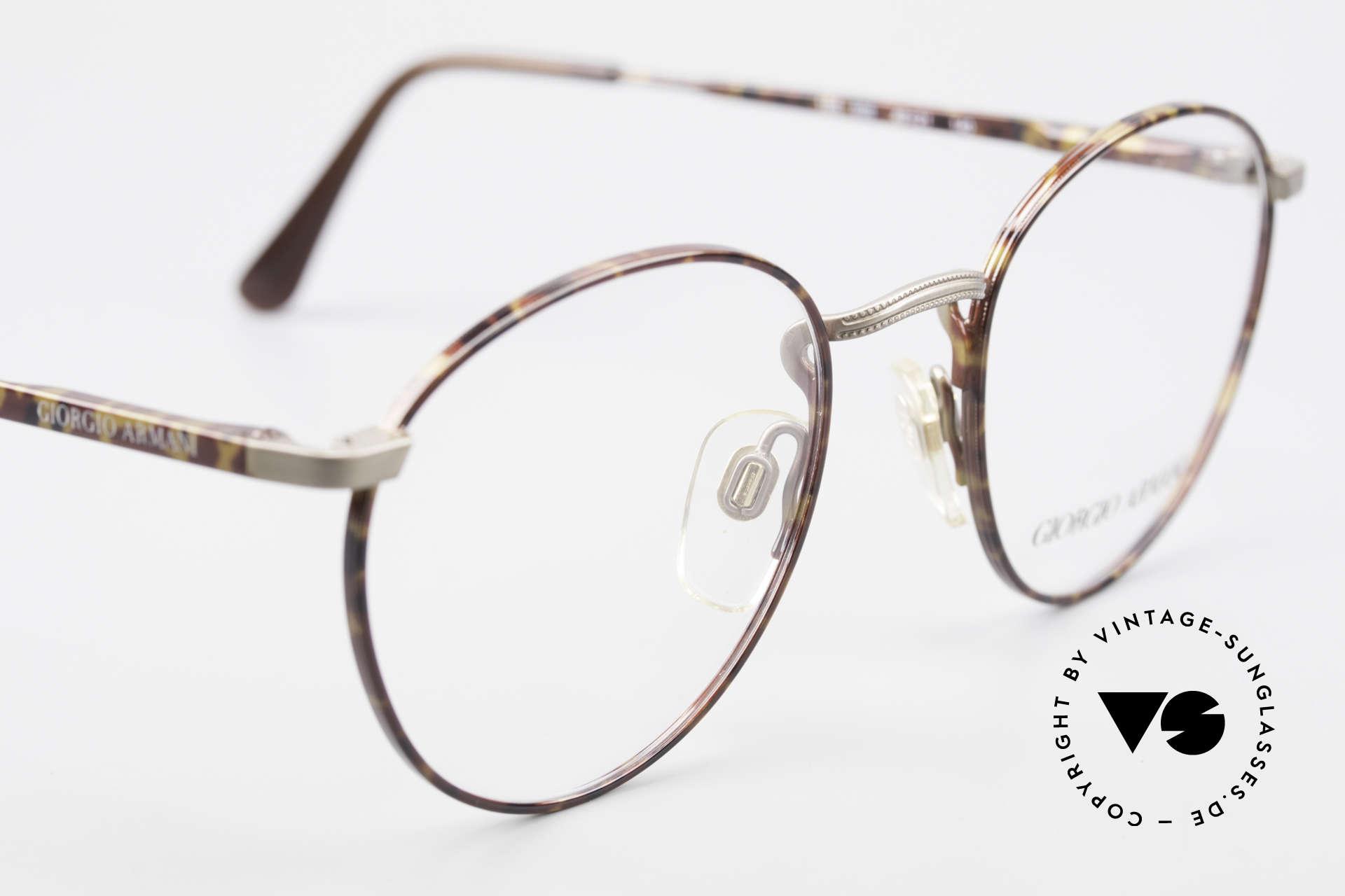 Giorgio Armani 166 No Retro Glasses 80's Panto, NO RETRO EYEWEAR, but a 30 years old ORIGINAL!, Made for Men