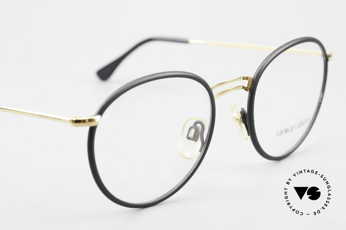 Giorgio Armani 152 Classic Round Vintage Frame, NO retro eyewear, but a unique 25 years old original!, Made for Men