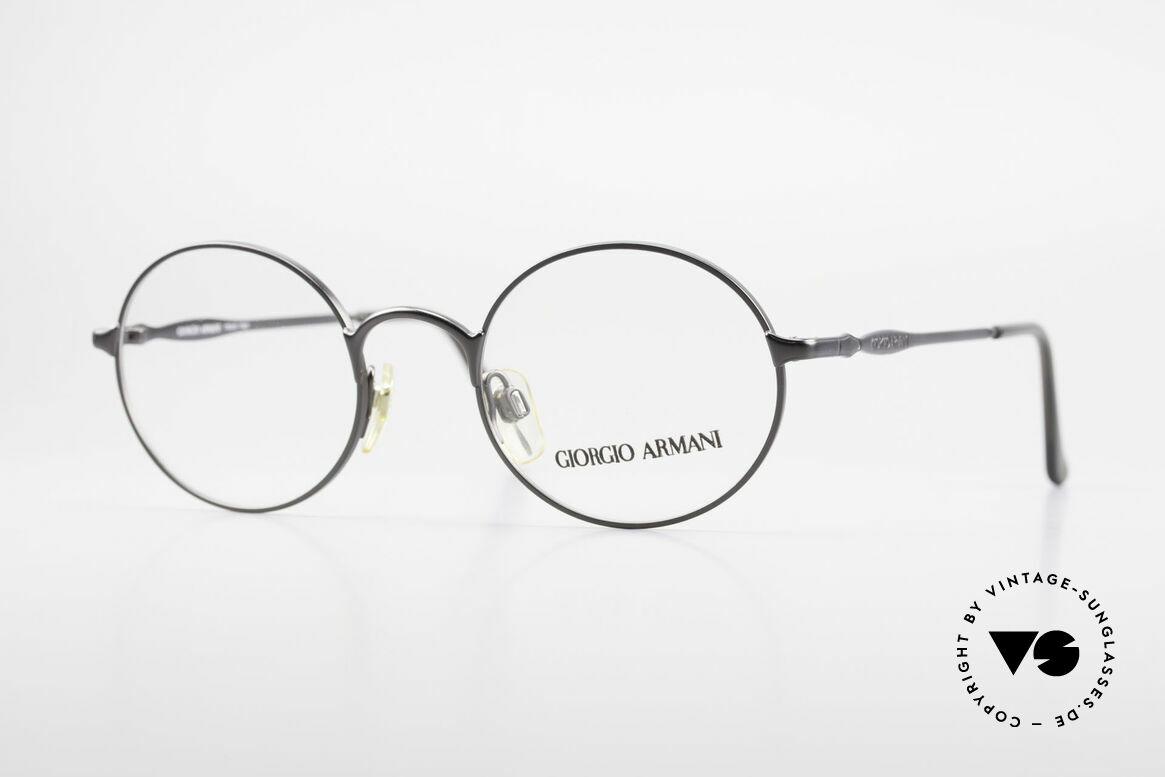 Giorgio Armani 243 Small Round Oval Glasses 90s
