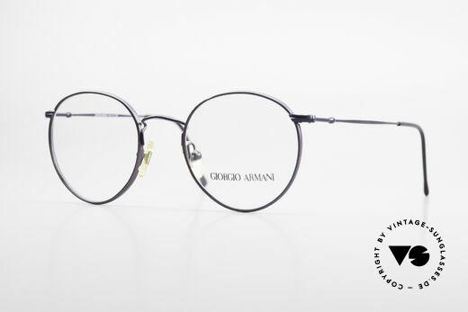 Giorgio Armani 253 Panto Vintage Frame Classic Details