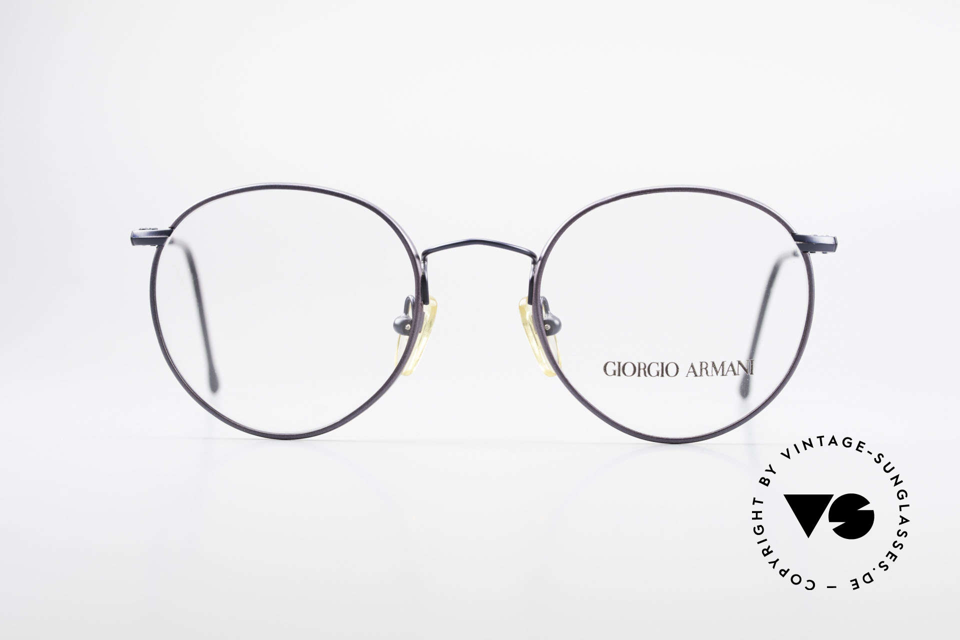 Giorgio Armani 253 Panto Vintage Frame Classic, world famous 'panto'-design .. a real eyewear classic, Made for Men