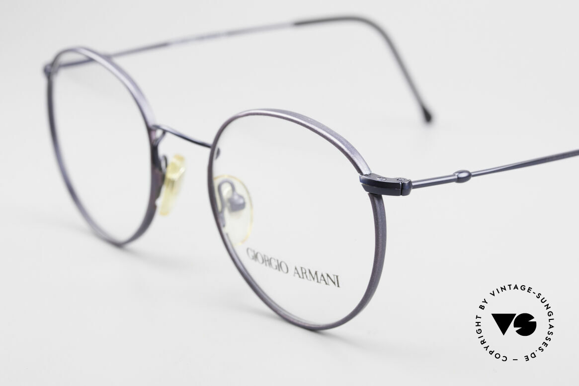 Giorgio Armani 253 Panto Vintage Frame Classic, unworn (like all our vintage GIORGIO Armani frames), Made for Men