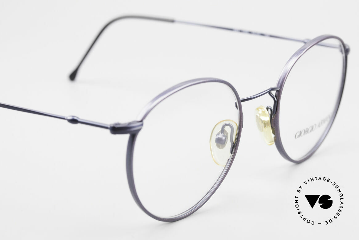 Giorgio Armani 253 Panto Vintage Frame Classic, NO retro specs, but a unique 30 years old ORIGINAL!, Made for Men