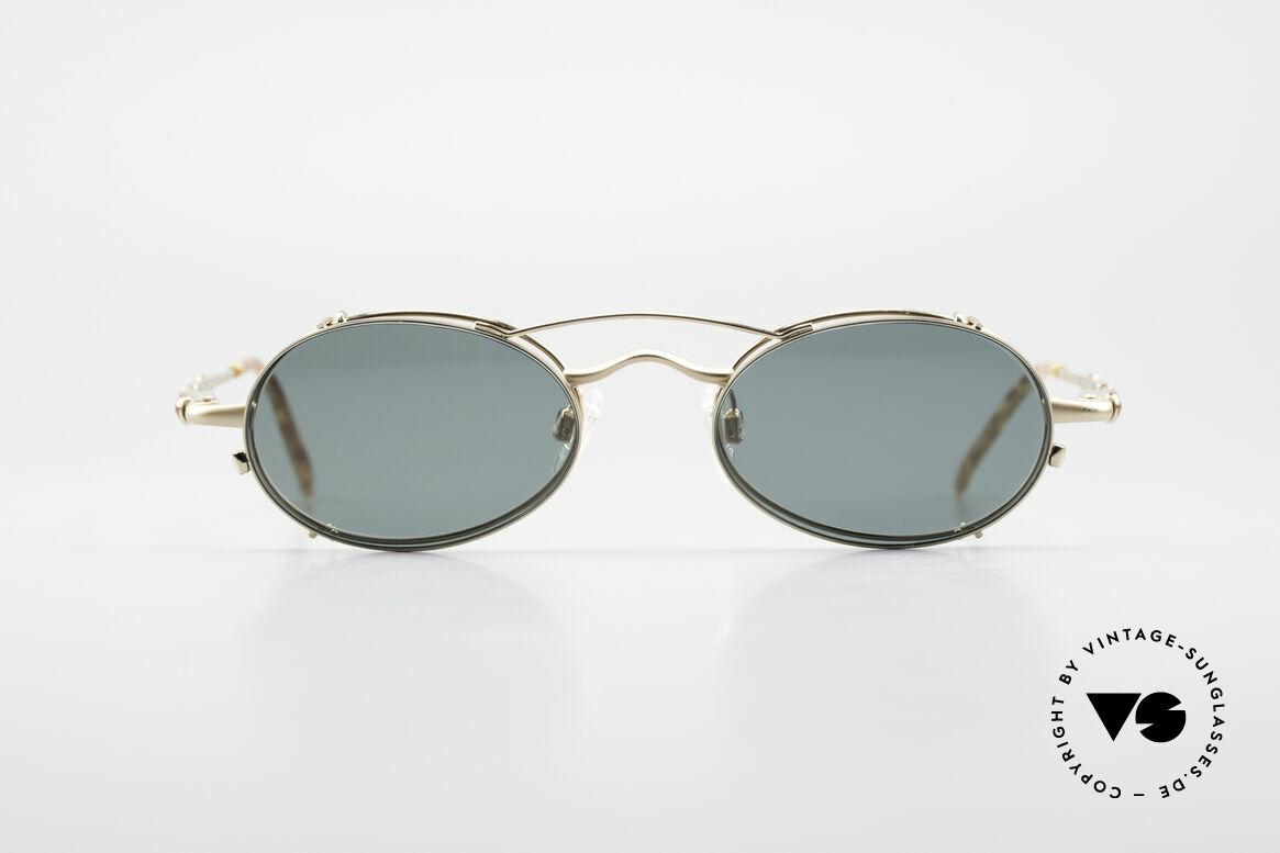 Bugatti 29710 Vintage Glasses with Sun Clip