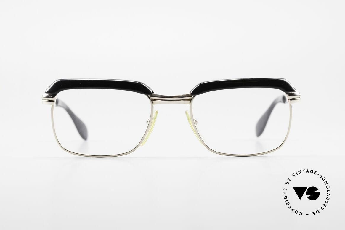 Metzler JK Gold Filled 60's Glasses Frame, fine gold doublé in 1/10 12k proportion; precious rarity, Made for Men