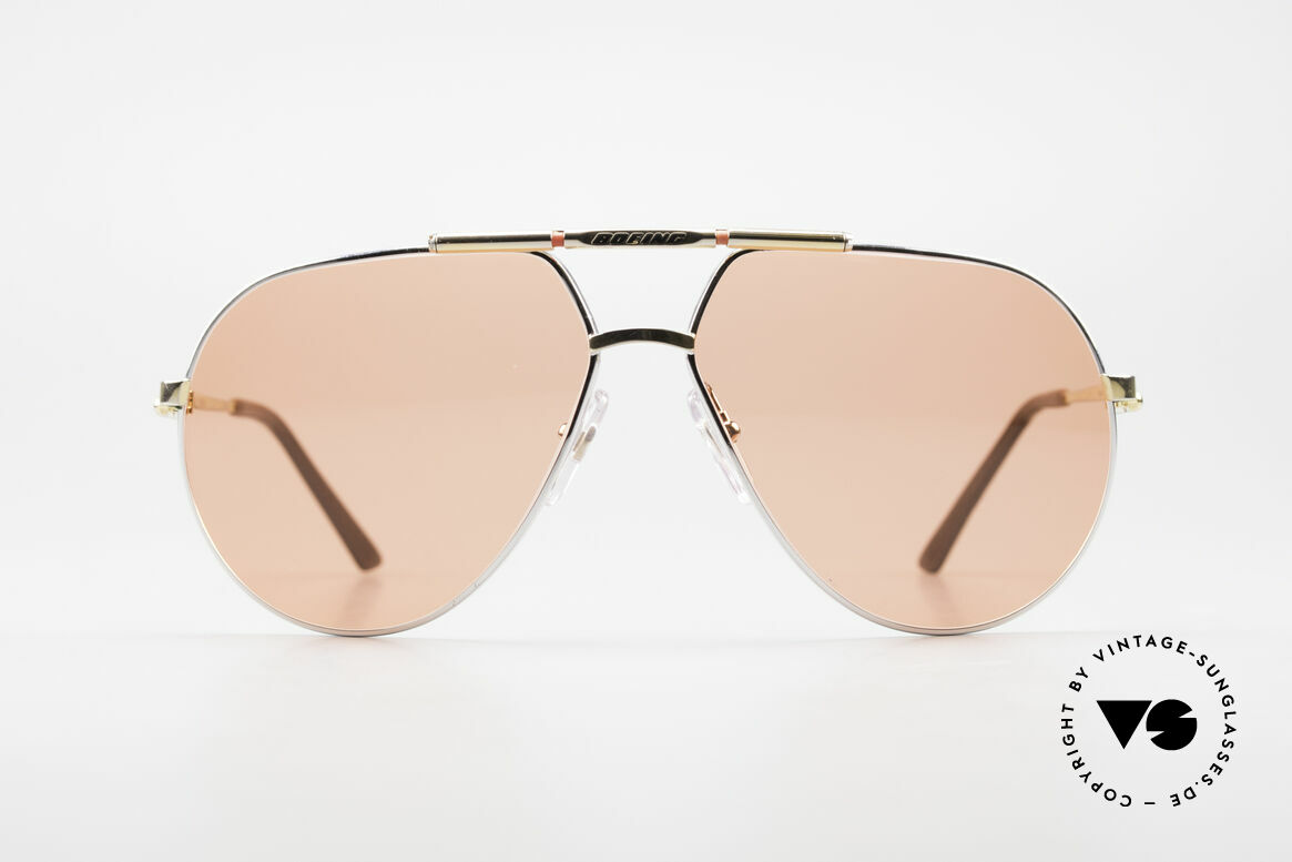 Boeing 5705 Original 80's Pilots Sunglasses, The BOEING Collection by Carrera from 1988/1989, Made for Men