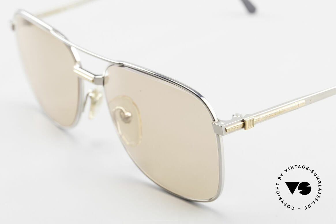 Dunhill 6066 18kt Gold Titan Changeable, (today, designer frames are made for less than 5 USD), Made for Men