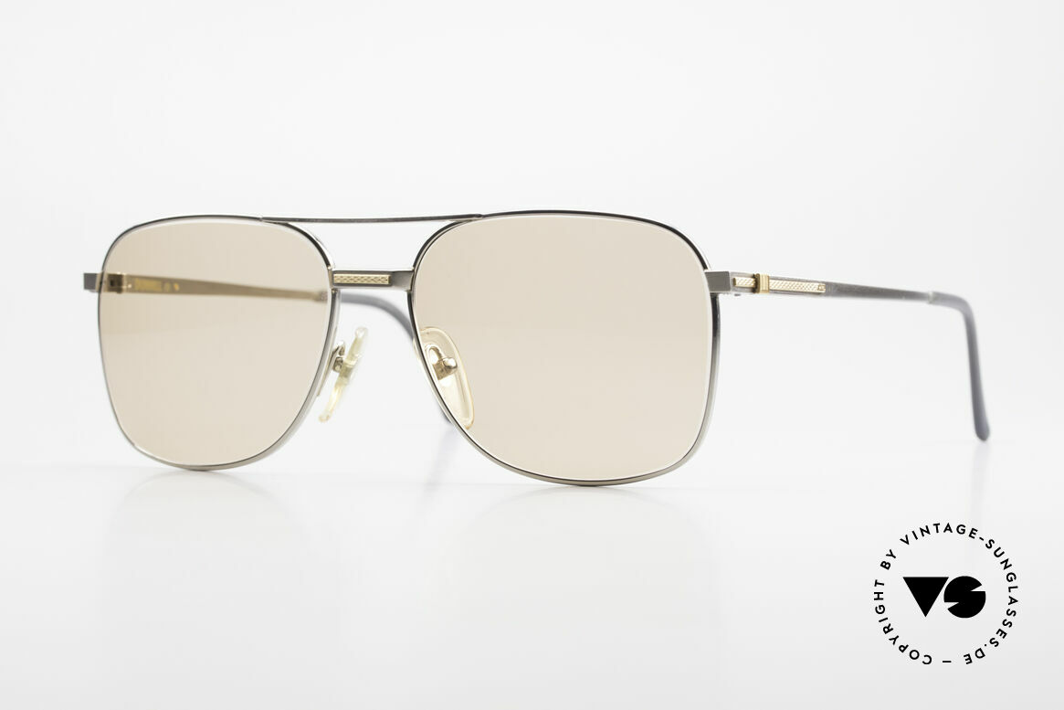 Dunhill 6066 18kt Gold Titan Changeable, this Dunhill model is at the top of the eyewear sector, Made for Men
