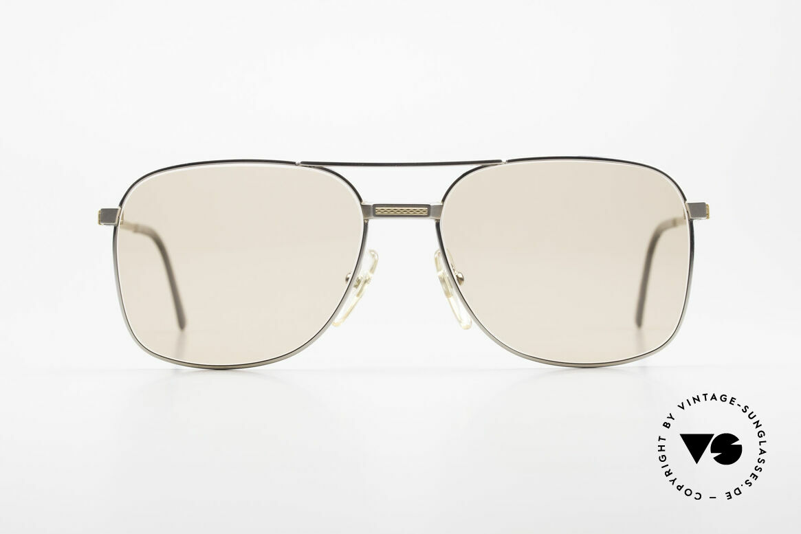 Dunhill 6066 18kt Gold Titan Changeable, A. DUNHILL Titanium frame with 18kt gold ornaments, Made for Men