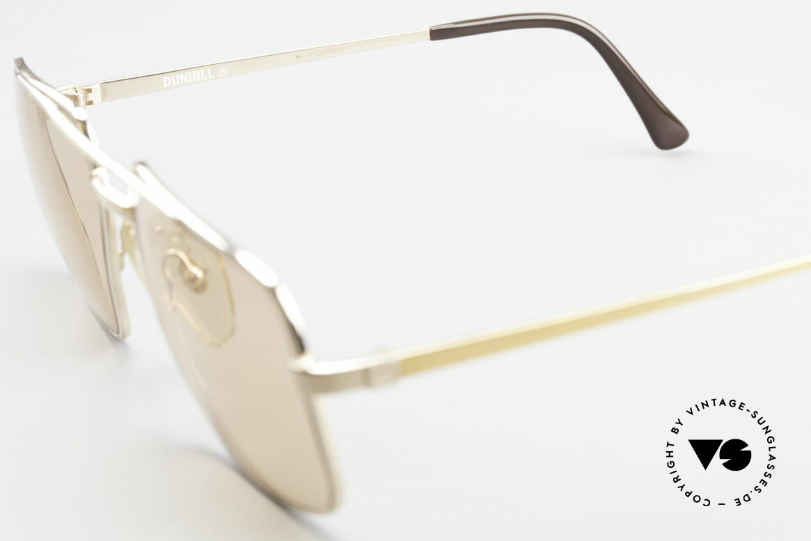 Dunhill 6068 Gold Plated Frame Changeable, Size: large, Made for Men