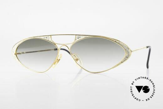 Casanova LC8 Vintage Sunglasses Ladies Details
