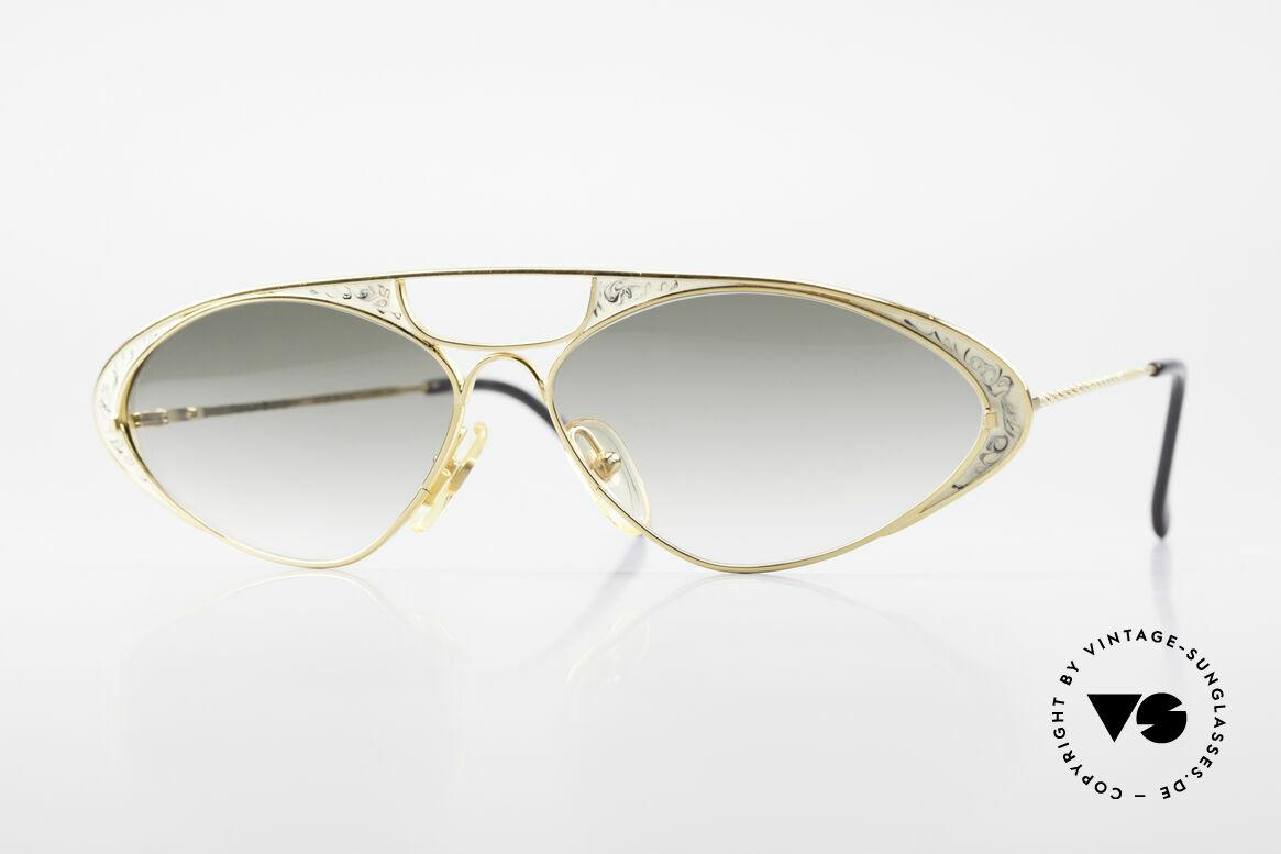 Casanova LC8 Vintage Sunglasses Ladies, glamorous CASANOVA sunglasses from around 1985, Made for Women