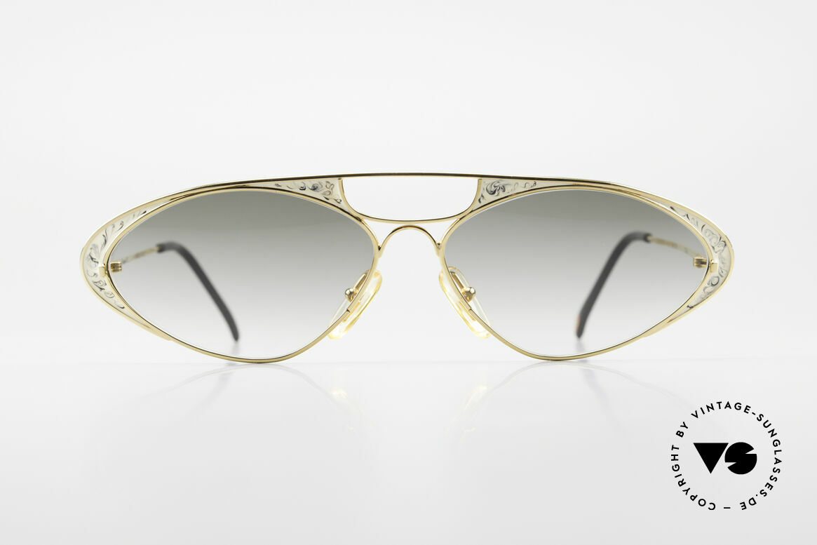 Casanova LC8 Vintage Sunglasses Ladies, fantastic combination of color, shape & functionality, Made for Women