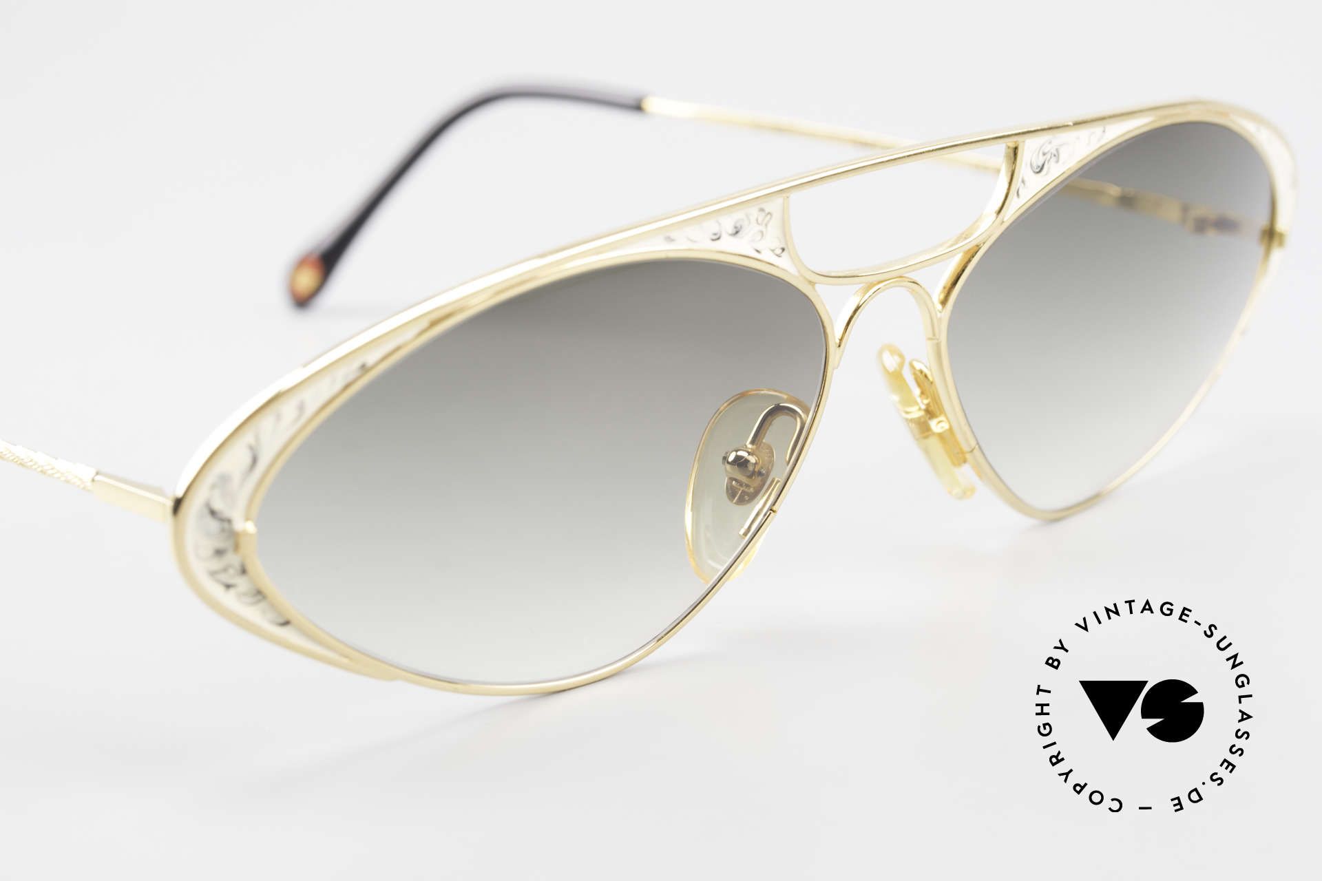 Casanova LC8 Vintage Sunglasses Ladies, NO retro shades, but a unique old designer ORIGINAL, Made for Women