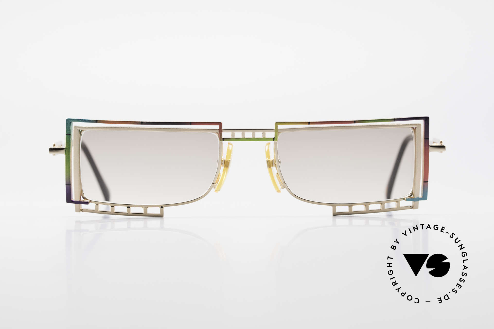 Casanova LC4 Square Vintage Sunglasses, fantastic combination of color, shape & functionality, Made for Men and Women